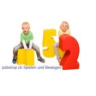 Sitz- und Spielbausteine - Zahlensalat 10-teilig