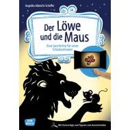 Der Löwe und die Maus. Eine Fabel für Schattentheater ab 3-jährig