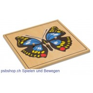 Der Schmettering - Holzpuzzlekarte in der Größe 24 x 24 cm