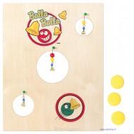 Spieltafel Balla Balla mit 3 Bällen
