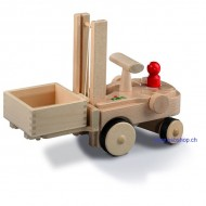 Gabelstapler mit Stapelkiste 17x24x34 cm-Creamobil Fahrzeuge ab 1 Jahr