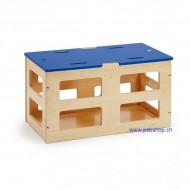 Hocker, Sportgerät oder Aufbewahrung, Spiel- und Sportbox S - Grundelement-Sportbox