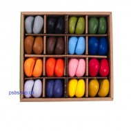 Crayon Rocks in Box,16 Farben, 64 Stück