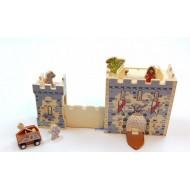 Burg - Spielkoffer, 20x11x22,5cm, ab 3-jährig
