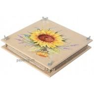 Riesen-Blumenpresse bunt 30 x 30 x 6 cm, für Jung und Alt