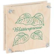 Blätterpresse  19,5 x 19,5 x 6 cm, für Jung und Alt