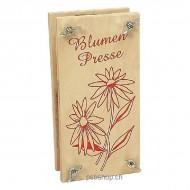 Blumenpresse gross 18 x 9 x 6 cm, für Jung und Alt