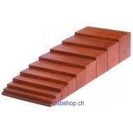 Braune Treppe 10-teilig