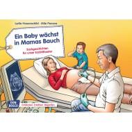 Ein Baby wächst in Mamas Bauch.