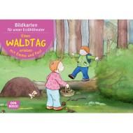 Einen Waldtag erleben mit Emma und Paul. Kamishibai Bildkartenset.