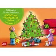 Advent und Weihnachten feiern mit Emma und Paul. Kamishibai Bildkartenset.