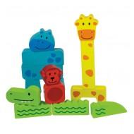 ANIMAL PUZZLE Puzzle dein Tier! 14-teilig, ab 18 Monaten
