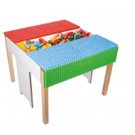 Poly Spieltisch für Kita, Kindergarten, Grundschule, Wartezimmer und Spielecken ab 3+