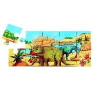 Dino, eine Urzeitlandschaft in XXL, Bodenpuzzle - ab 3-jährig