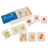 Cognito - Zählen und Zahlen - 204 × 100 × 60 mm, ab 4-jährig