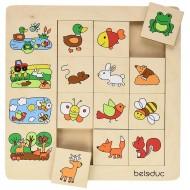 """Legespiel - Sortierpuzzle """"Lebensräume"""" 12 Puzzleteile, 1 Rahmen, Alter: 24M+"""