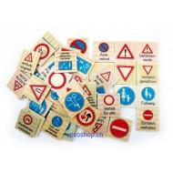 Memo Verkehrszeichen - 48 Teile, ab 3-jährig