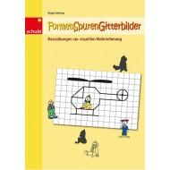 Formen-Spuren-Gitterbilder, Geeignet für: 4-8 Jahre