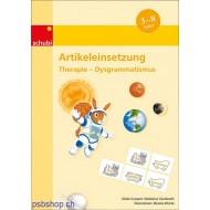 Artikeleinsetzung-Therapie - Dysgrammatismus Kopiervorlagen