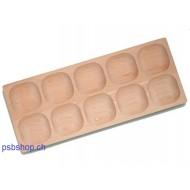 Tablett mit 10 Mulden, Alter: 2 bis 6-jährig