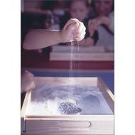 Kleine Sandwanne mit Glasboden, 27 x 37 x 4,5 cm, Alter: 4-9