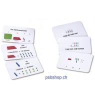 Arbeitskartei zum Mathematischen Würfel, 100 Aufgabenkarten