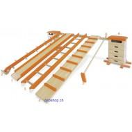 Sprungkastenkombination 8-teilig - Krabbel-, Kletter- und Sprungwelt