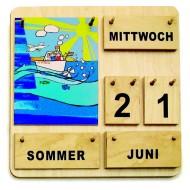 Kinder Lernkalender Dauerkalender