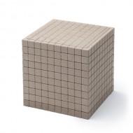 Dienes Einzelteile, Tausenderwürfel 1 Stück vom Mathematischen Würfel