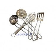 Edelstahl Kinder-Küchengeräteset, 5-teilig