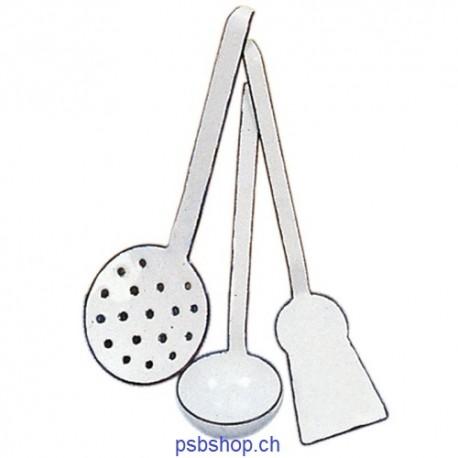 Küchengeräte-Set Email 3-teilig