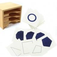 Geometriacher Kartensatz,106 teiliges Set