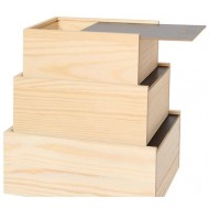 Bemalbare Krimskrams-Kistenset mit beschreibbarem Deckel, Auswahl