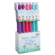 Tanz-, Gymnastikband-Set in drei Farben
