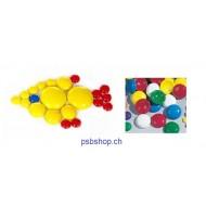 Muggelsteine D31mm - Kennenlernpaket 1