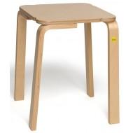 Hocker 48 aus Formholz, Sitzhöhe 48cm