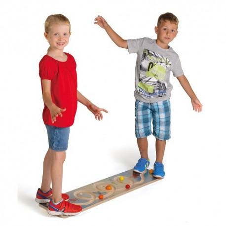 Balancierbrett Looping, L115xH5xB25cm, ab 5-jährig