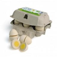 Eier zum schneiden im Karton, 12-teile