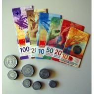 Rechengeld Schweizer Franken