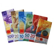 Rechengeld Schweizer Franken, Noten