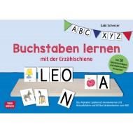 Buchstaben lernen mit der Erzählschiene, Schulvorbereitung und Schulkindbetreuung