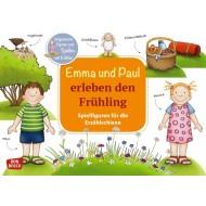 Emma und Paul erleben den Frühling. Ausgestanzte Figuren zum Spielen und Erzählen