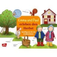Emma und Paul erleben den Herbst. Ausgestanzte Figuren zum Spielen und Erzählen