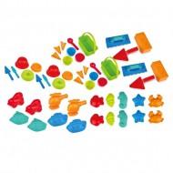 Sand-Set - Formen und Bauen - 50-teilig