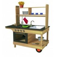 Mobile Küche für den Außenbereich