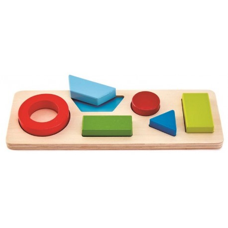 Geometrie Puzzle ab 18 Monaten, Lernspiel