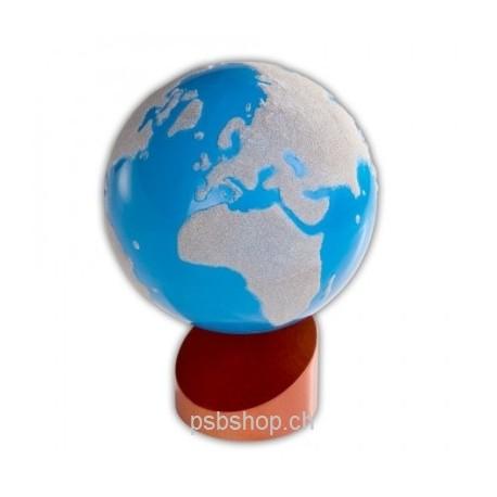 Globus Land - Wasser, Einführung zum Thema Erde, 16 x 16 x 20 cm, ab 3 Jahren.